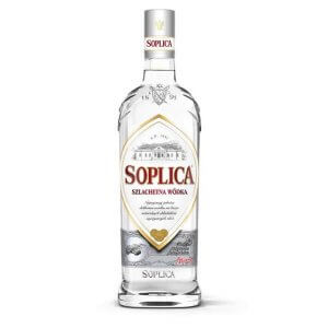 Bouteille vodka Soplica Blanche (Szlachetna) 70cl