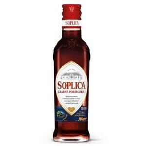 Bouteille liqueur de vodka Soplica Cassis (Czarna Porzeczka) 20cl