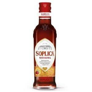 Bouteille liqueur de vodka Soplica Cerise (Wisniowa) 20cl