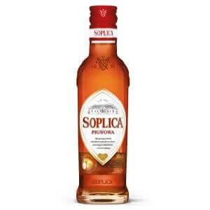 Bouteille liqueur de vodka Soplica Coing (Pigwowa) 20cl