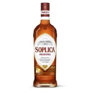 Bouteille liqueur de vodka Soplica Coing (Pigwowa) 50cl