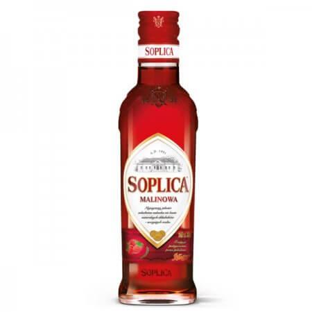 Bouteille liqueur de vodka Soplica Framboise (Malinowa) 20cl