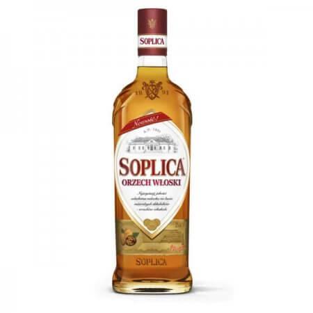Bouteille liqueur de vodka Soplica Noix (Orzech Wloski) 50cl