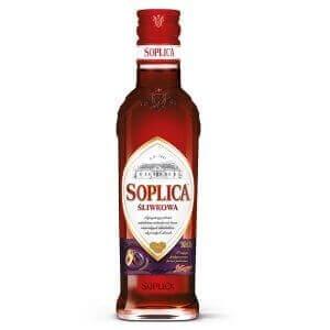 Bouteille liqueur de vodka Soplica Prune (Sliwkowa) 20cl