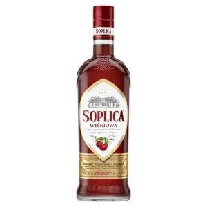 Bouteille liqueur de vodka Soplica Cerise (Wisniowa) 50cl