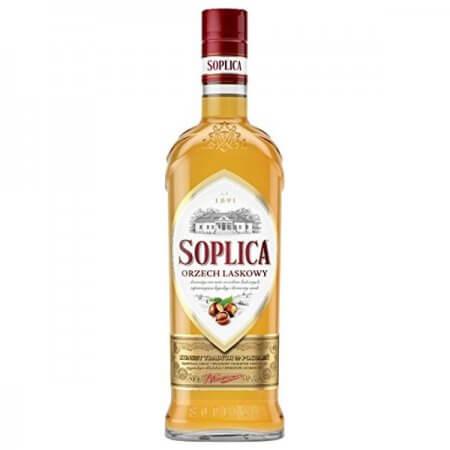 Bouteille liqueur de vodka Soplica Noisette (Orzech Laskowy) 50cl