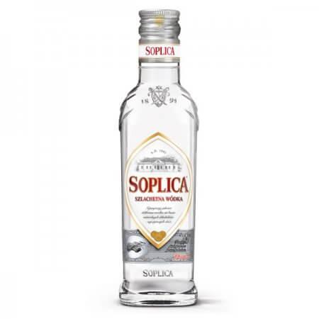 Bouteille vodka Soplica Blanche (Szlachetna) 20cl