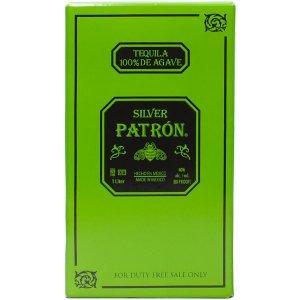 Coffret Tequila Patron Silver 1 litre