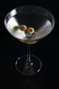 Illustration Dry Martini