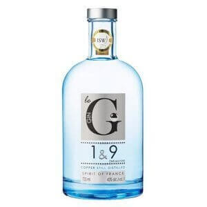 Bouteille Gin 1 & 9 - 70cl