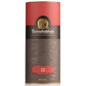 Boîte du Whisky Bunnahabhain 12 ans