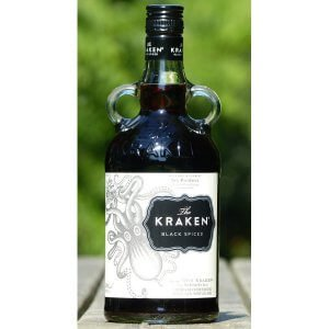 Bouteille Rhum Kraken Black Spiced Rum - photo extérieur