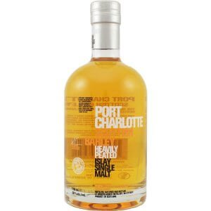 Bouteille Whisky Port Charlotte - Scottish Barley - 70cl.