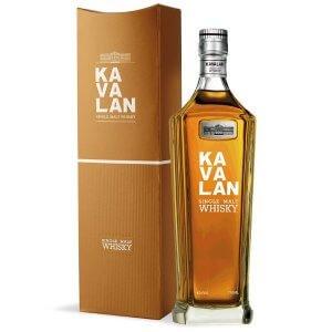 Bouteille Whisky Kavalan Single Malt et sa boite - 70cl.