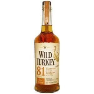 Bouteille Bourbon Wild Turkey 81 - 70cl.