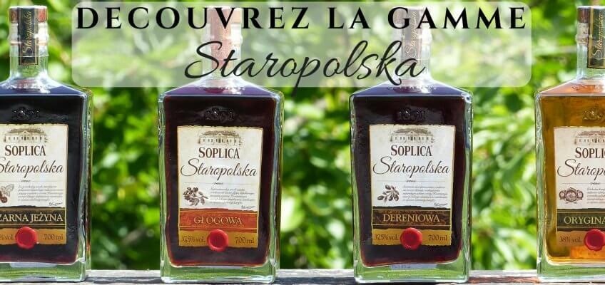 La gamme Soplica Staropolska