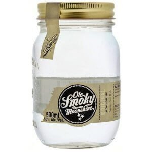 Bouteille de Ole Smoky Original Moonshine - 50cl.