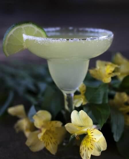 La margarita, cocktail à base de tequila