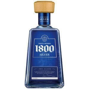 Bouteille Tequila 1800 Silver - 70cl.