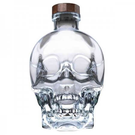 Bouteille Vodka Crystal Head - 70cl.