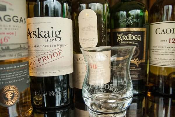 Whiskies en provenance de l'île d'Islay