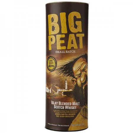 Boite du Whisky Big Peat - 70cl.