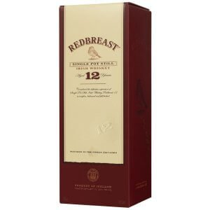 Boite Whisky Redbreast 12 ans - Single Pot Still - 70cl.