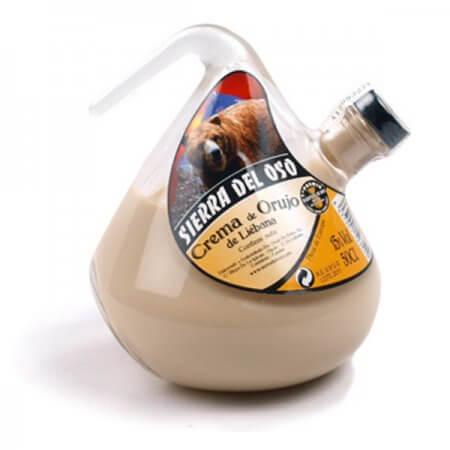 Bouteille de crème de Orujo de Liébana - Format Porrón - 50cl.