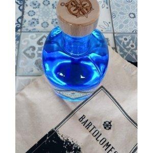Gin Bartolomeo - bouteille vue du dessus