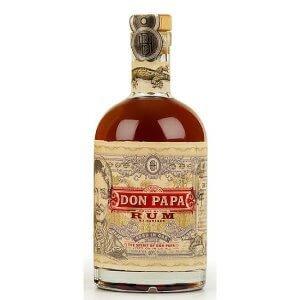 Bouteille de Rum Don Papa 7 ans - 70cl.