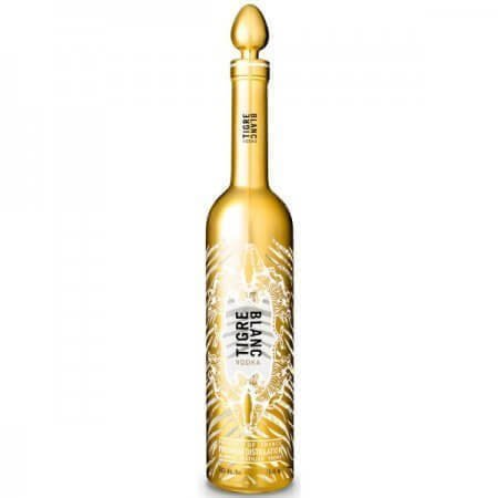 Bouteille Vodka Tigre Blanc Or - Premium Distillation - 70cl.
