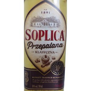 Étiquette Soplica Caramel - Przepalana Klasyczna -50cl.