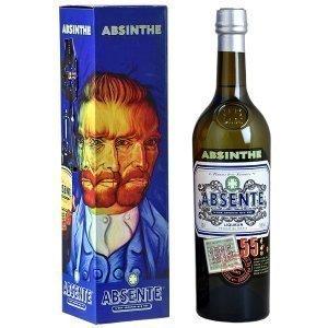 Absinthe Absente 55 - Étui Van Gogh avec sa cuillère