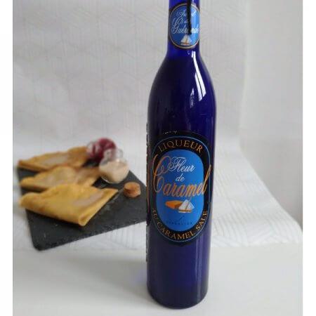 Liqueur au caramel salé de la maison Fisselier