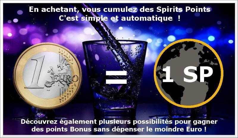 Programme de fidélité de Spirits Station, cumulez des Spirits Points !
