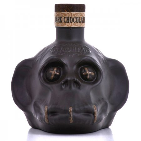 Rhum Deadhead Chocolat - Bouteille tête de singe