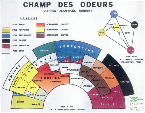 Champ des odeurs - Jean-Noël Jaubert