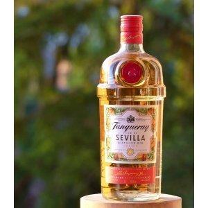 Gin Tanqueray Flor de Sevilla - photo en extérieur
