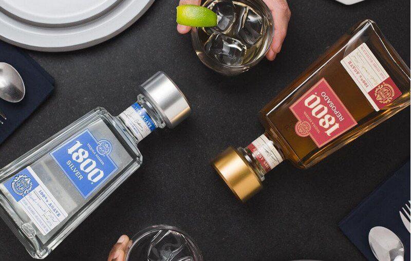 Tequila 1800 - Silver et Reposado