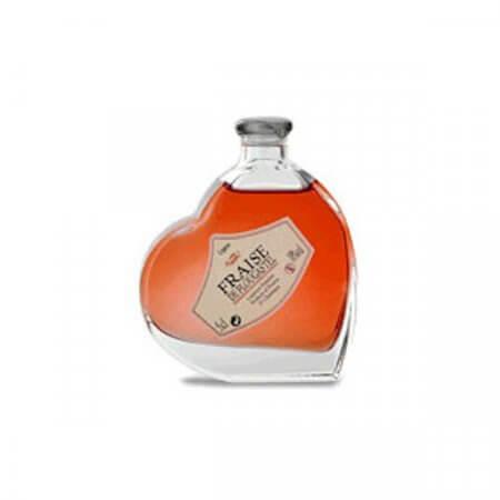 Liqueur fraise de Plougastel - Mignonnette Cœur