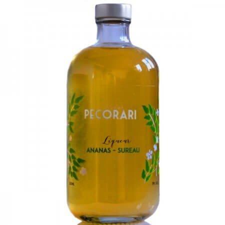 Liqueur Pecorari - Ananas et fleurs de sureau