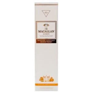 Boite Whisky Macallan Amber 1824