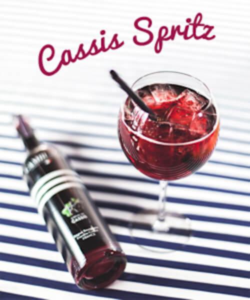 Cocktail Cassis Spritz - Crème de Cassis Cambusier