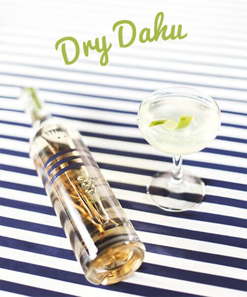 Cocktail Dry Dahu - liqueur génépi Cambusier