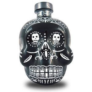 Tequila Kah Anejo - bouteille crâne