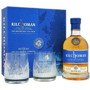 Coffret Kilchoman Machir Bay avec 2 verres
