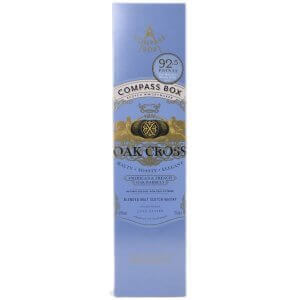 Boite du Whisky Compass Box Oak Cross