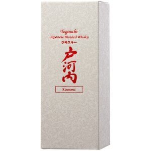 Boite Whisky japonais Togouchi Kiwami