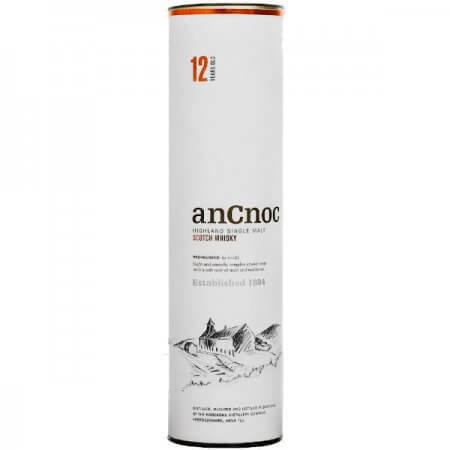 Etui du Whisky AnCnoc 12 ans des Highlands