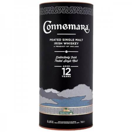 Etui du Connemara 12 ans - Whisky Tourbé